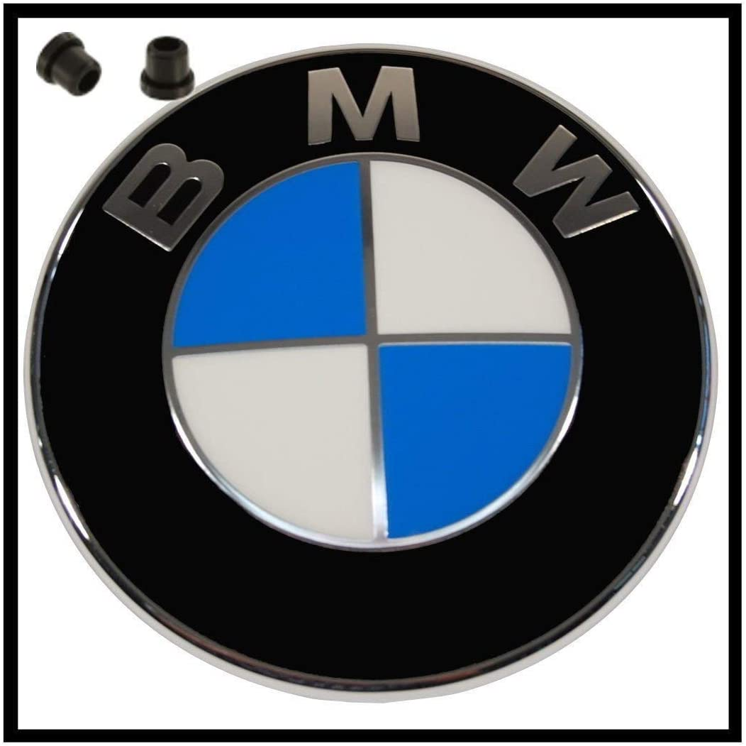 82MM BMW Logo Motorhaube Heckklappe Kofferraum Emblem 1 3 5 6 7 Z X6 X5 Series