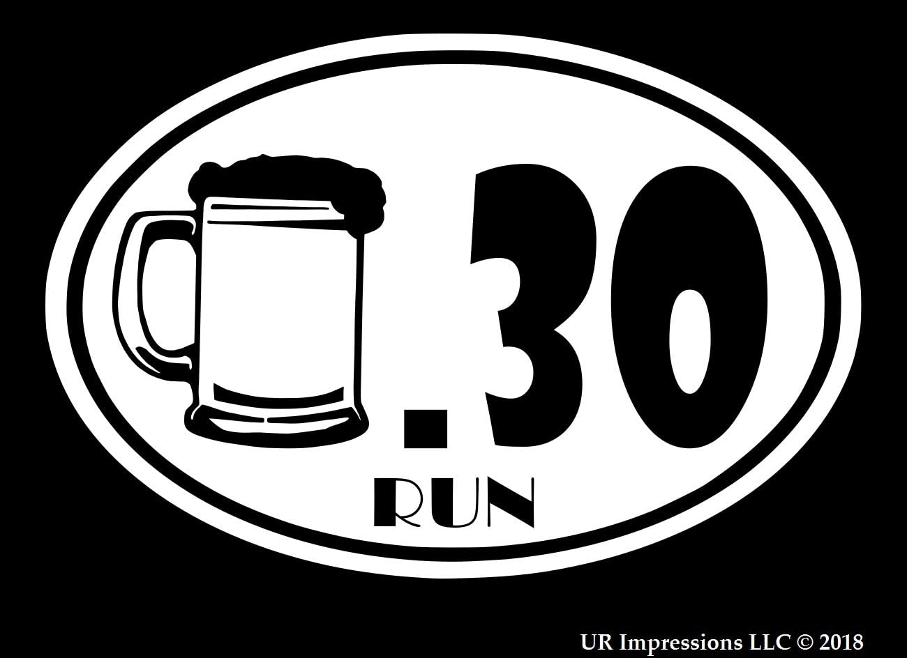 Beer 30 Car or Truck Window Laptop Decal Sticker  WHITE