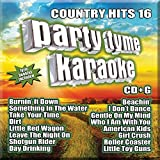 Party Tyme Karaoke - Country Hits 16 [16 song CD+G]