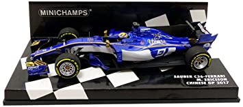 Minichamps 1:43 2017 Sauber F1 Team Ferrari C36 - M ...