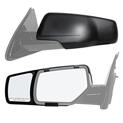 Fit System 80920 Snap and Zap Towing Mirror Pair: Automotive