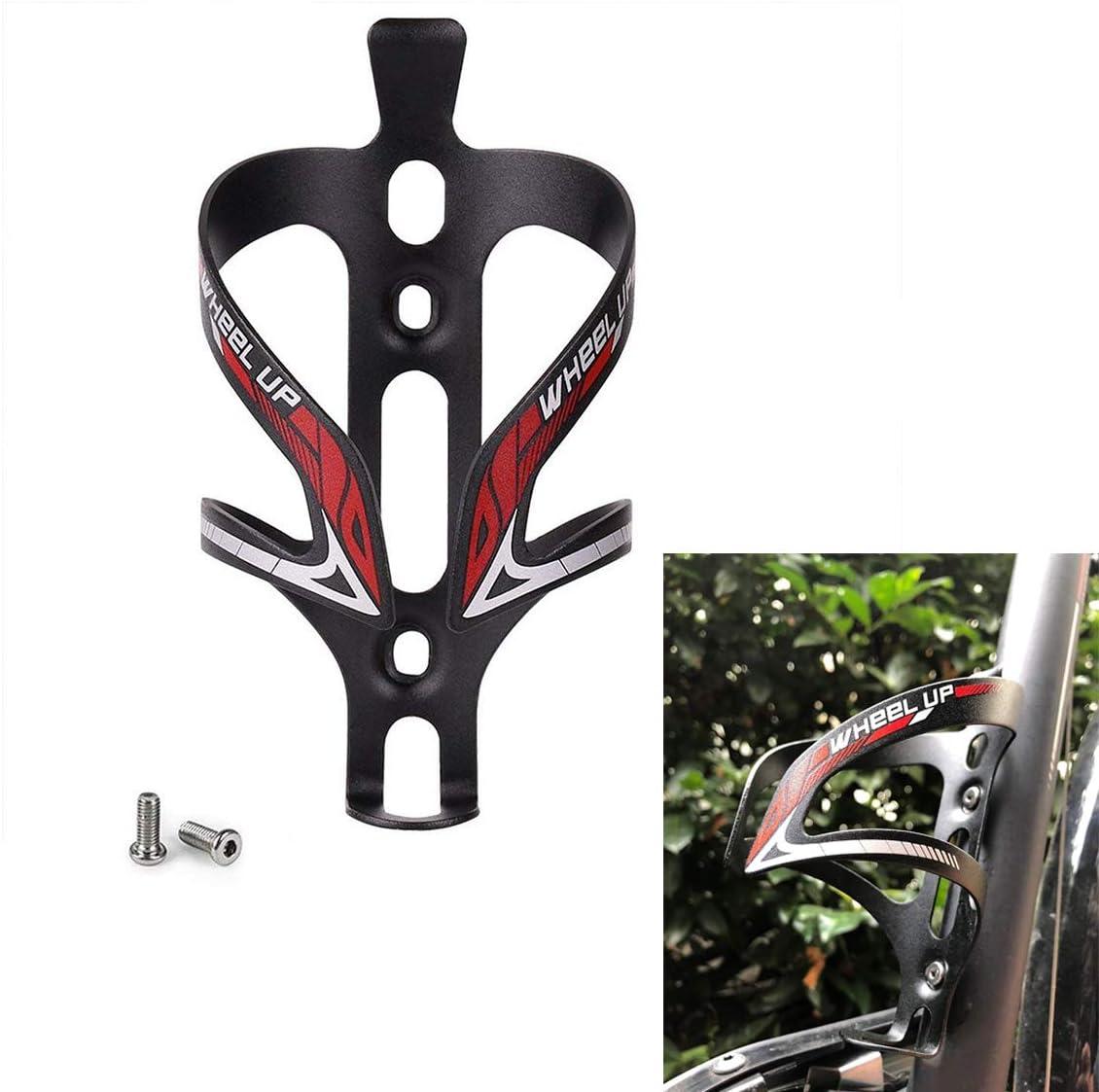 AIMUHO Portabidón de Bicicleta, Aleación de Aluminio Ultraligero Portabidones Bicicleta Porta Botellas Bicicleta Water Bottle Cage