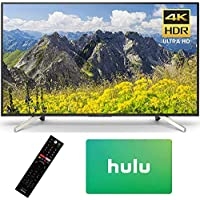 Sony KD65X750F 65 LED 4K Ultra HD HDR Smart Android TV (2018 Model) with $25 Hulu Plus Gift Card