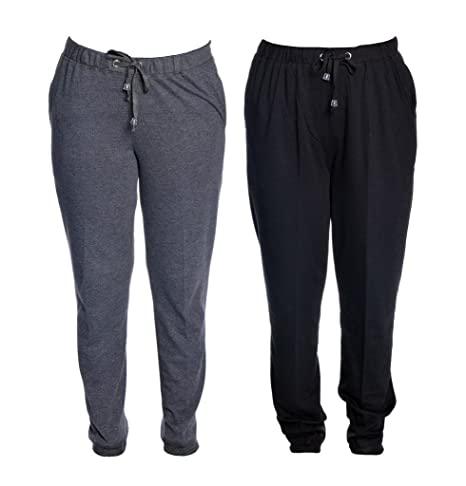 Vimal Cotton Blended Womens Trackpants(Pack Of 2) Women's Sports Trousers at amazon