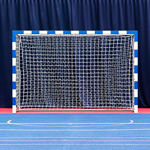 Forza Alu80 Competition Handball Goals | IHF Regulation Size 3m x 2m Handball Goal [Net World Sports] (Pair, Blue) by Forza (Image #1)