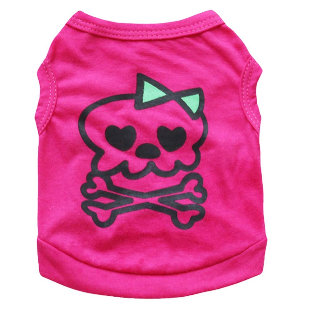 As shown L As shown L Small and Medium-Sized Dog T-Shirt Cotton Jersey Boutique (color   As Shown, Size   L)