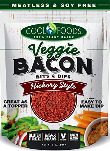 (Cool Foods, Veggie Bacon Bits Hickory Smoked, 3 Ounce)