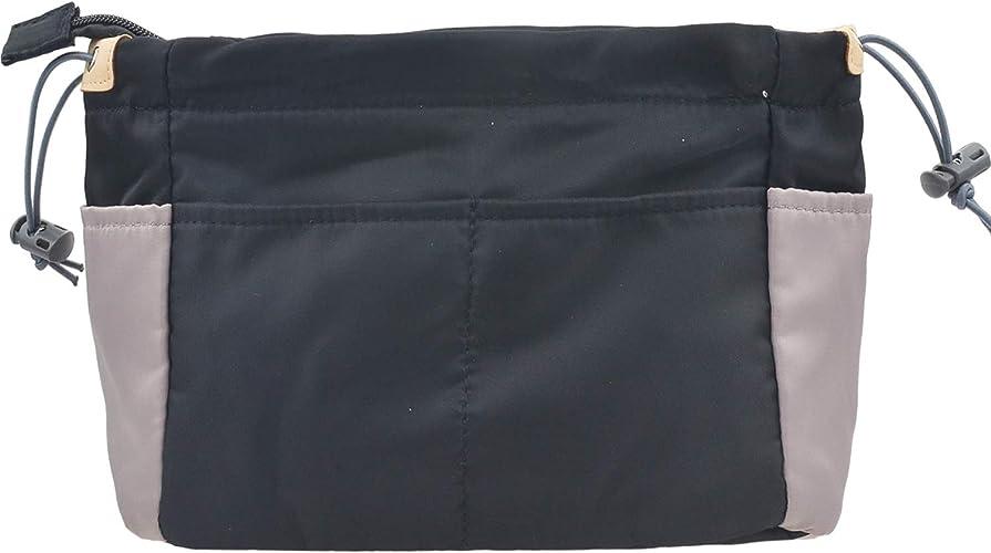 3 Sizes 11 Pockets Fits LV Speedy Neverfull Felt Insert Bag Organizer With Zipper /& Keychain Bag In Bag For Handbag Purse Tote Bag,Solid Bottom 6 Colors