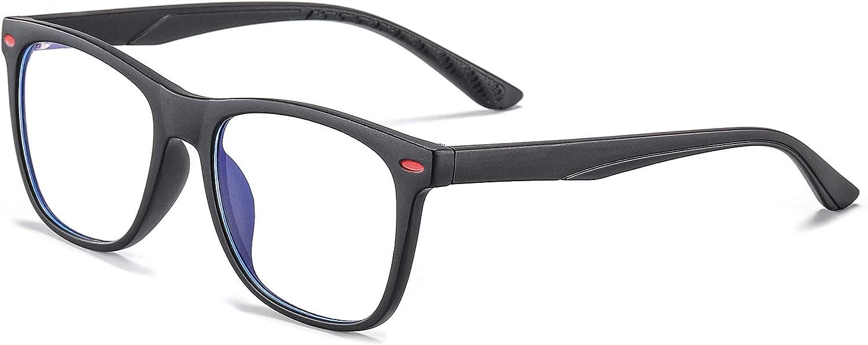 Black Fake Glasses Anti Bluelight Glasses for Kids Blue Light Glasses for Kids Girls Boys Age 7-12 Penbea Kids Blue Light Blocking Glasses
