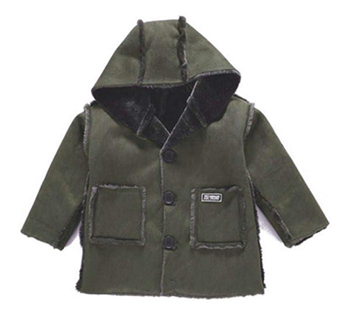 49e126550120 Amazon.com  Melissa Wilde Winter Boys Faux Fur Coats Baby Thicken ...