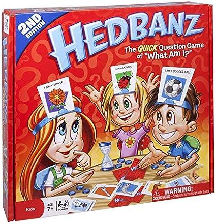 Hedbanz Juego De Adivinar Quién Soy Yo Juego De Cartas De Adivinación Juego De Mesa Multijugador Para La Familia Adultos Y Niños Toys Games