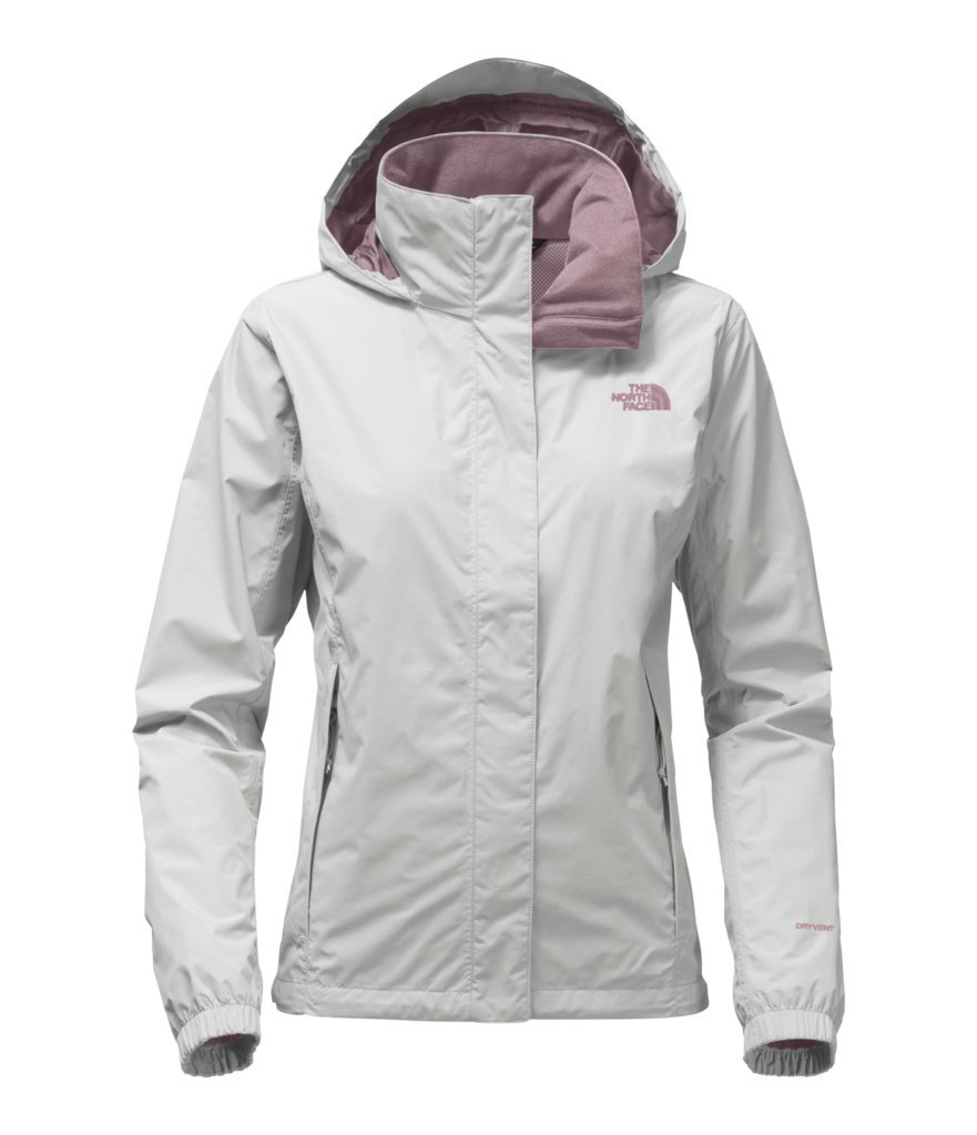 The North Face Women's Women's Resolve 2 Jacket - High Rise Grey/Black Plum - S (Past Season)