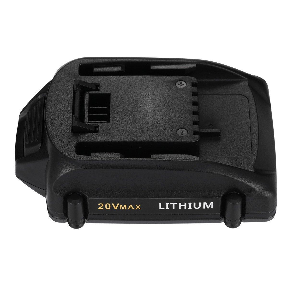 Powerextra 2.5Ah Worx 20 Volt Lithium WA3520 Replacement Battery for WORX WG151s, WG155s, WG251s, WG540s, WG890, WG891 Worx 20v Lithium Battery
