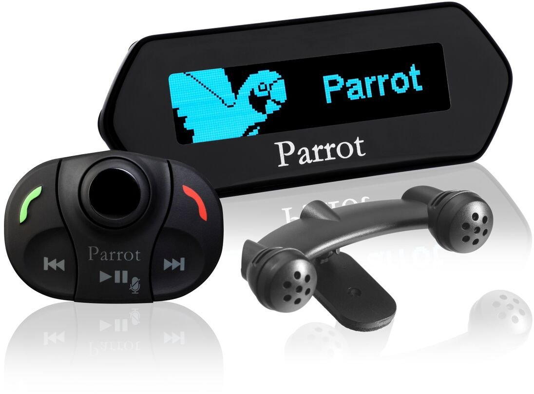 Amazon.com: Parrot MKi9100 Advanced Bluetooth Hands-Free Music Kit ...