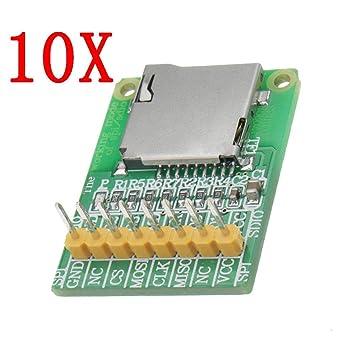 Quintion Child 10pcs 3.5V / 5V Módulo de Tarjeta Micro SD ...