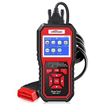 KW850 OBD2 EOBD Auto Car Diagnostic Scanner Reader Code Reader Tool KONNWEI UK