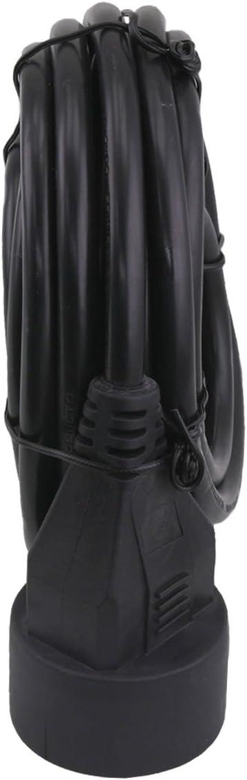 Exin H05VVF Rallonge 5 m 3 x 1,5 mm2 Noir