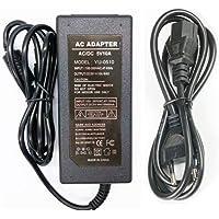 5V 10A Voeding Adapter 50W Transformatoren ,AC100-240V to AC/DC5V Omvormer Adapter met 5,5mm * 2,5mm DC Stekkeradapter…