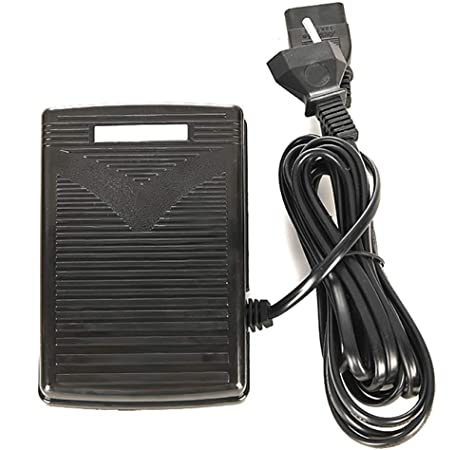 Asixx 200-240V Pedal de Control de Pie Pedal Eléctrico con Cable ...