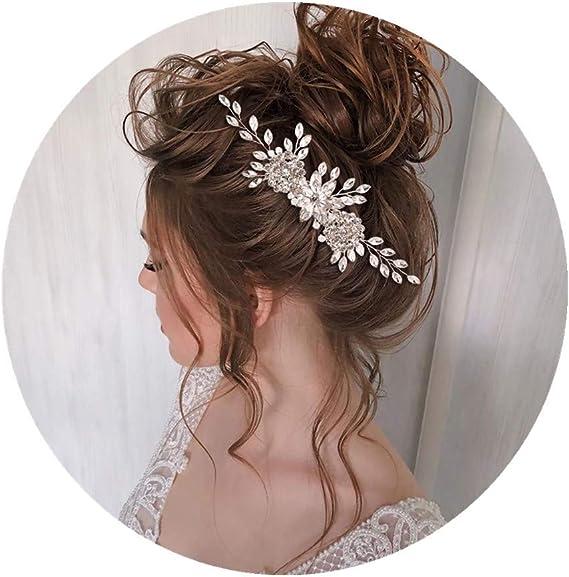 Wedding Hair Accessory Bridal headpiece for bridesmaids Bridal crystal hair comb Bridal Hair Comb Wedding Hair Piece Crystal Bridal Comb