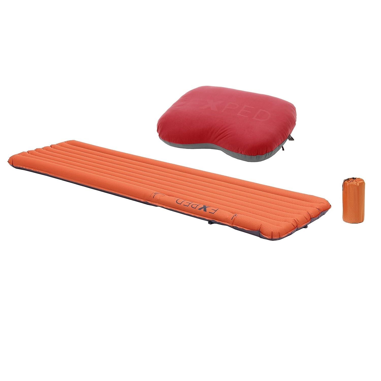 Exped SynMat 7 Sleeping Pad – W /枕 B0062Q2ENC  Terracotta w/ Pillow Regular - Regular