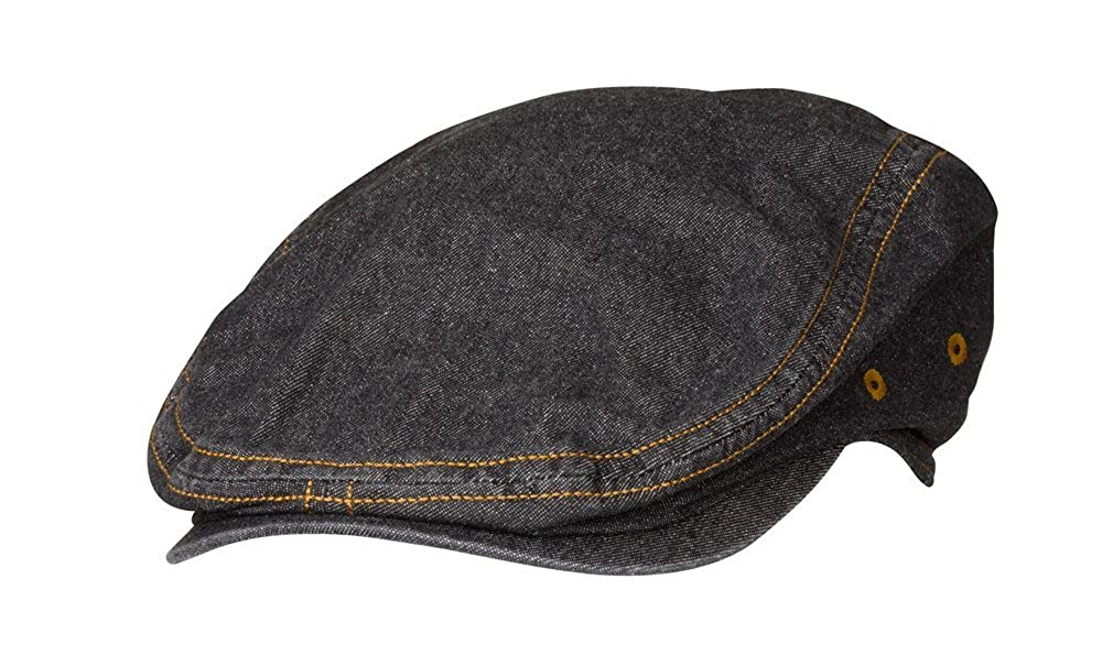 Chef Works Manhattan Driver Chef Cap (HB006) Chef Works Apparel HB006-BLK-0