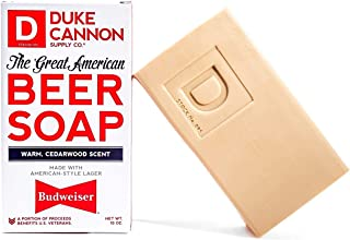 product image for Duke Cannon Supply Co. Great American Beer Soap Bar for Men, 10 ounce / Made with Budweiser