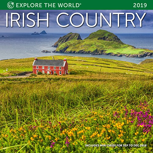 Irish Country Wall Calendar 2019 Monthly January-December 12'' x 12