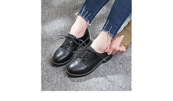 eee43e7e GAOLIM Zapatos De Mujer Zapatos Bajos De Cabeza Redonda Con Correa Solo  Zapatos Mujer Zapatos Negros Con Negrita, A La Luz De Zapatos De Mujer Que  Siguieron ...