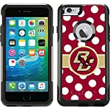 Boston College - Polka Dots design on Black OtterBox Commuter Series Case for iPhone 6 Plus and iPhone 6s Plus