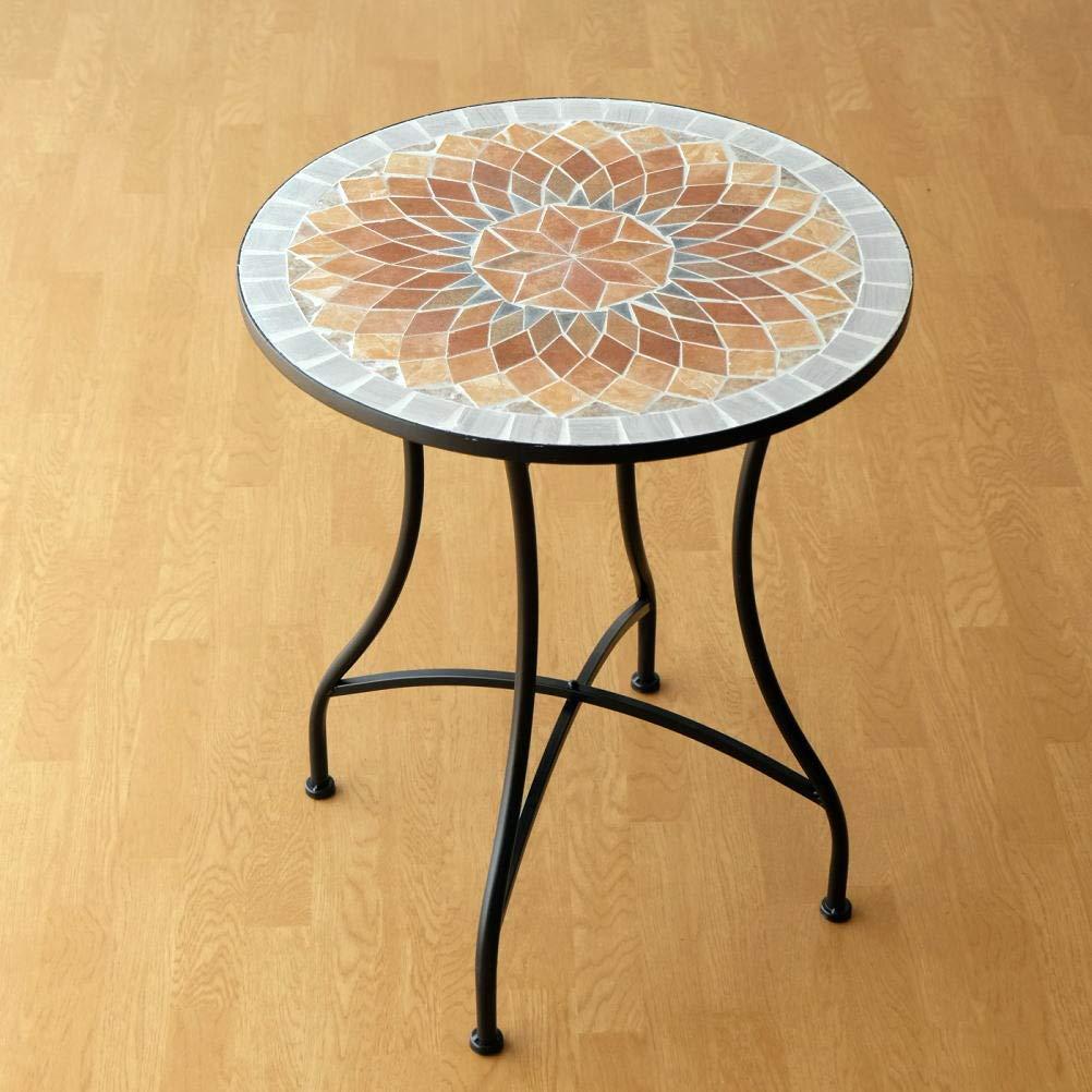モザイクガーデンテーブル [sik1438] B07NKGXB7Z
