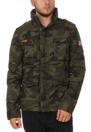 official photos 3fa21 b146a Superdry Jacke Herren Classic Rookie Military Jacket ...