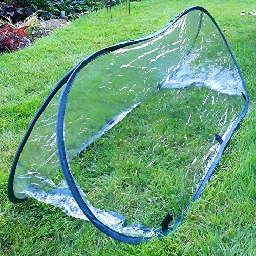 Pop-Up Garden Poly Cloche Cold Frame Mini Greenhouse - Large Leisure Traders