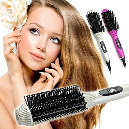 hellodd alisador de cabello rizador de cabello Combo Auto Termostato Volumen peine peine recta, color blanco: Amazon.es: Bricolaje y herramientas