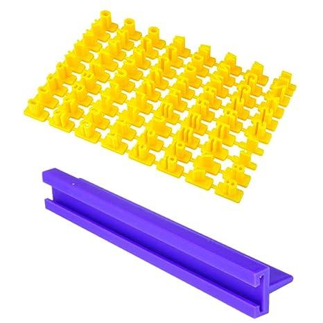 fsttm88 - Juego de 72 moldes para repostería y Galletas, para decoración de Pasteles,