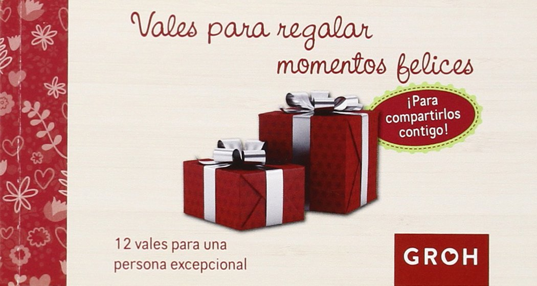 Vales para regalar momentos felices (Vales de Regalo): Amazon.es ...