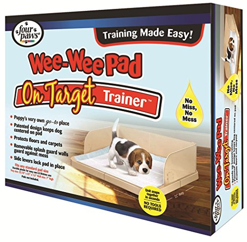 Four Paws Wee-Wee On Target Puppy Dog Trainer Tray