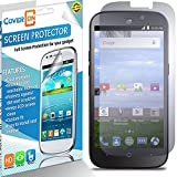 ZTE Allstar, ZTE Stratos Screen Protector, 3 Pack of CoverON [VisiGuard Series] Protective HD Film - Clear Screen Protector For ZTE Stratos 4G LTE / Allstar LTE