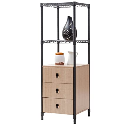 Amazon.com: Giantex Collection Storage Cabinet Bathroom Freestanding ...