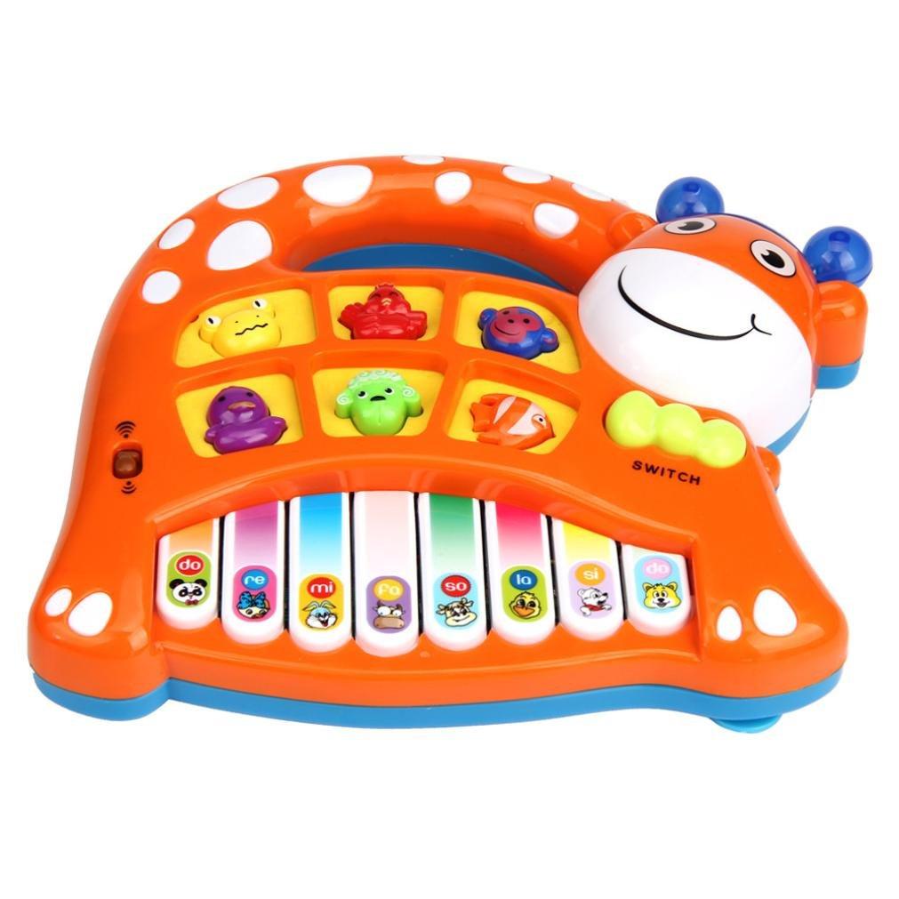 Winkey Toy for Baby Boys Girls, Baby Kids Musical Educational Animal Farm Piano Developmental Music Toy 655387056777