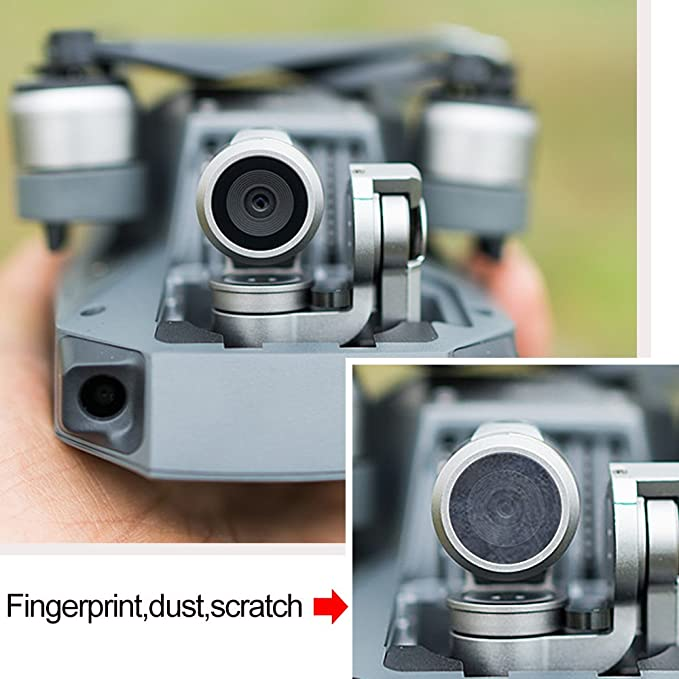 PENIVO Anafi Filter,6pcs//Set Neutral Density Filters ND4 ND8 ND16 ND32 MCUV CPL Camera Lens Filter for Parrot Anafi Drone Gimbal Protects Part Accessories 6pcs Set