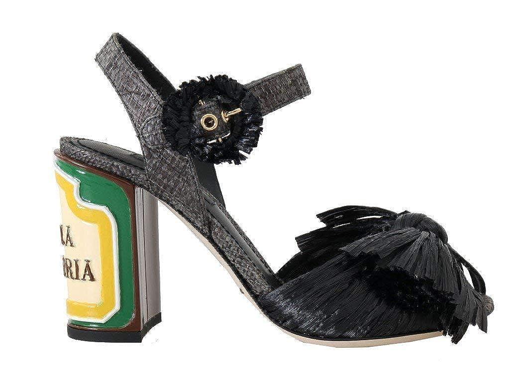 - Black Antica Trattoria Sandals