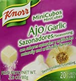 Knorr Minicubes Garlic Seasoning 2.8oz (Pack of 4)