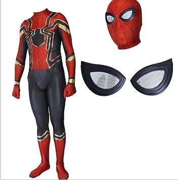 Amazon.com : APPSS Iron Spider-Man Complex 3 Cosplay Costume ...