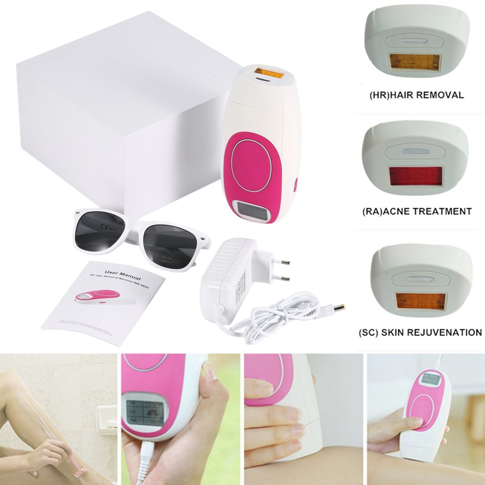 Hair Removal Machine, Whole Body Hair Removal Device Machine Help You Removal Hair Effectively on Your Body Area Very Perfect for Women (US Plug)