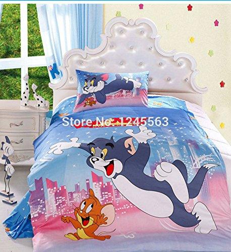 Copripiumino Tom E Jerry.Baby Boys Cartoon Bedding Set Children S Comfortable Tom And Jerry