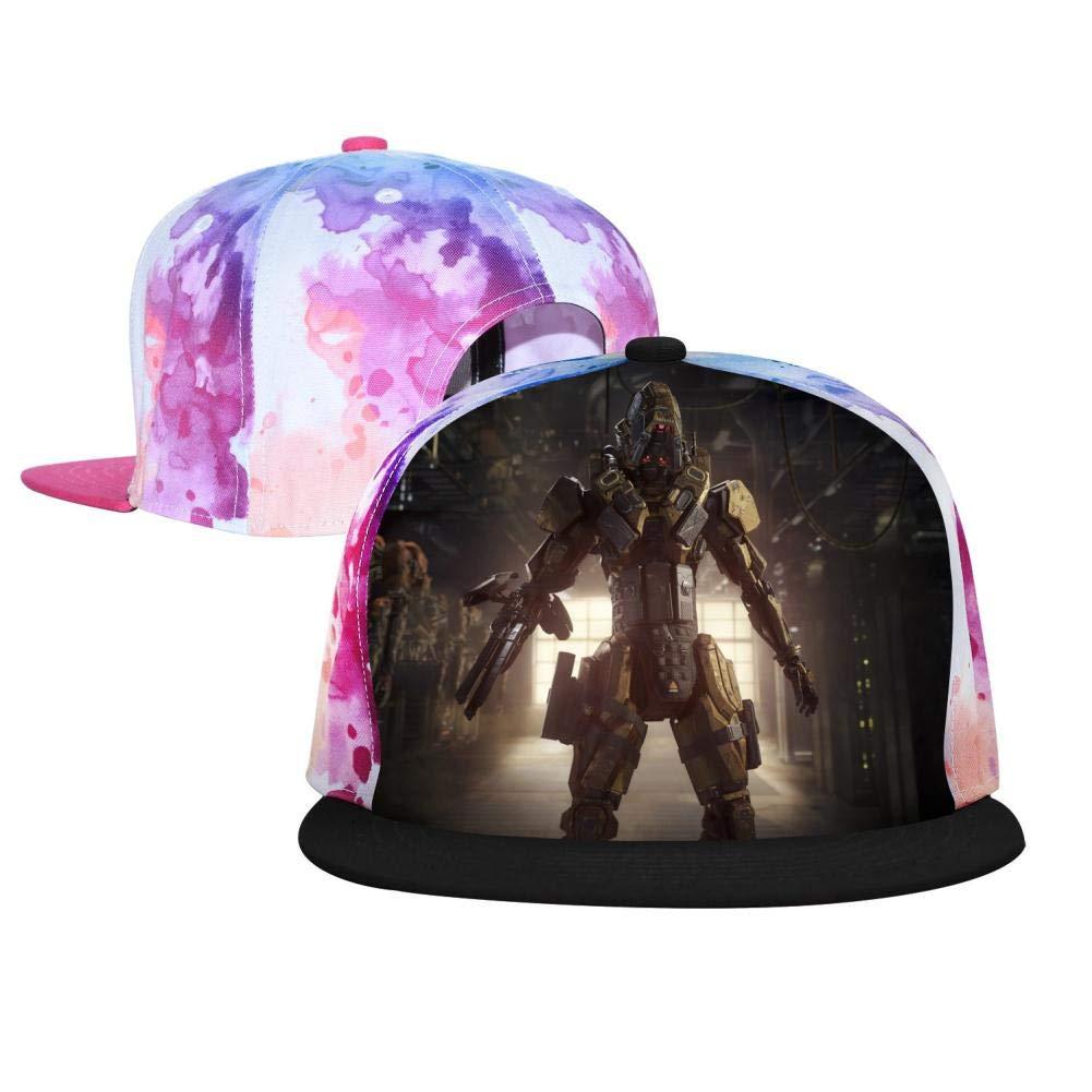 Fuxejin Unisex Baseball Cap Un-Spea-Ka-Ble Gaming 3D Printed Adjustable Hip Hop Hats