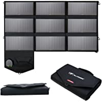 ALLPOWERS 60W Foldable Solar Panel with 18V DC Output for Portable Generator, Laptops, 12V Car Boat RV Battery, SunPower Solar Charger with 5V USB Output for Android, iPhone
