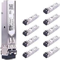 SFP Transceiver Multimode Gigabit Mini-GBIC Module 1000Base-SX Compatible for Netgear AGM731F(MMF, 850nm, 550m, Dual LC…