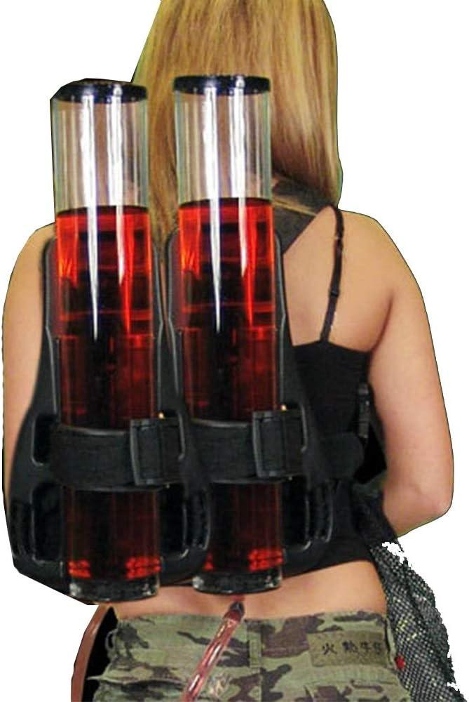 Máquina de Bebidas Doméstica Simple Mochila Tipo de maquina expendedora de cerveza de barril doble torre del vino Dispensador al aire libre del alpinismo de bebidas mochila Máquina de Cerveza